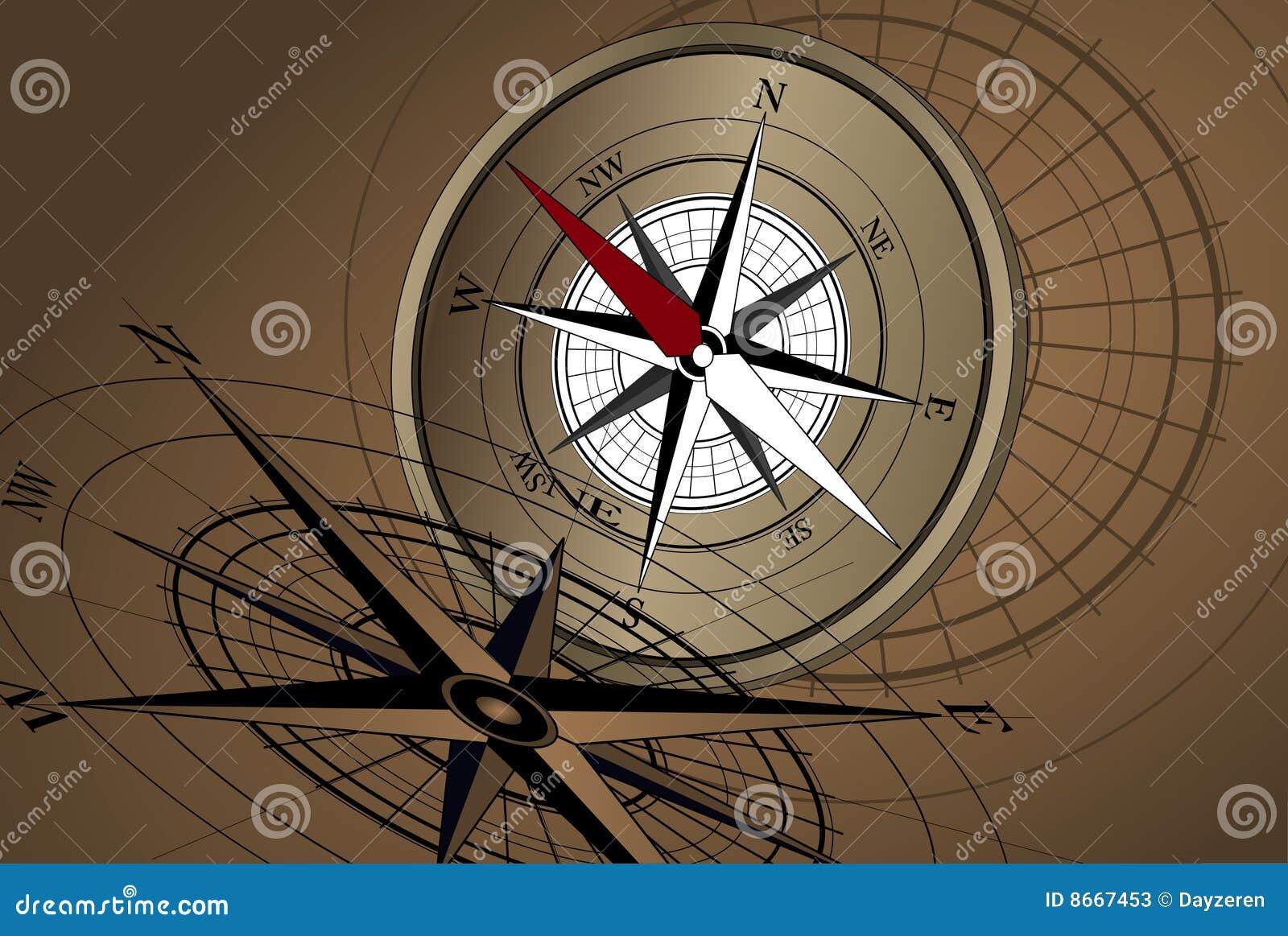 Fond de compas