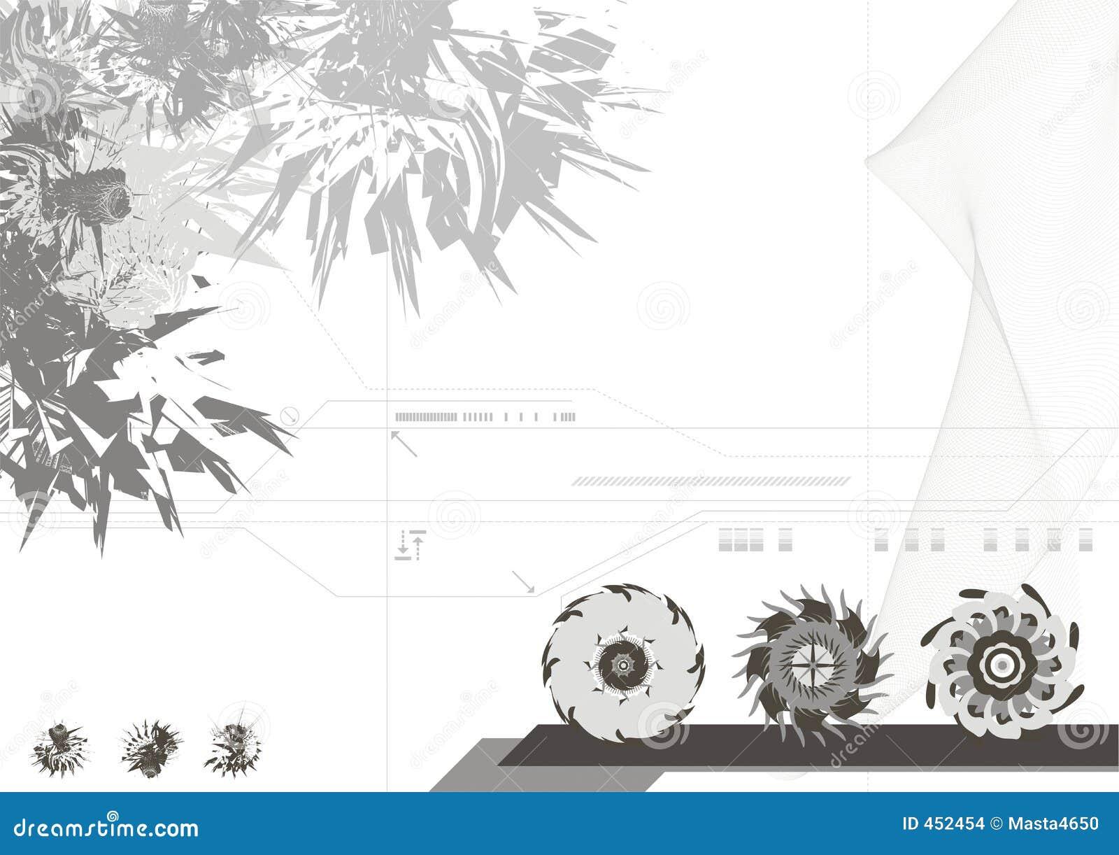 Fond de conception moderne