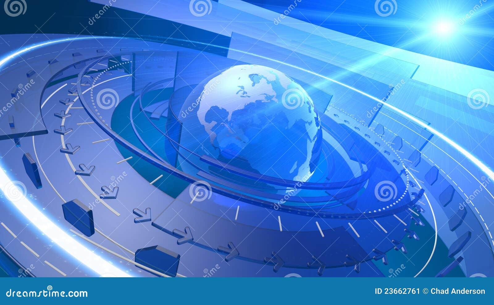 Fond de connexion réseau de Digitals de globe du monde