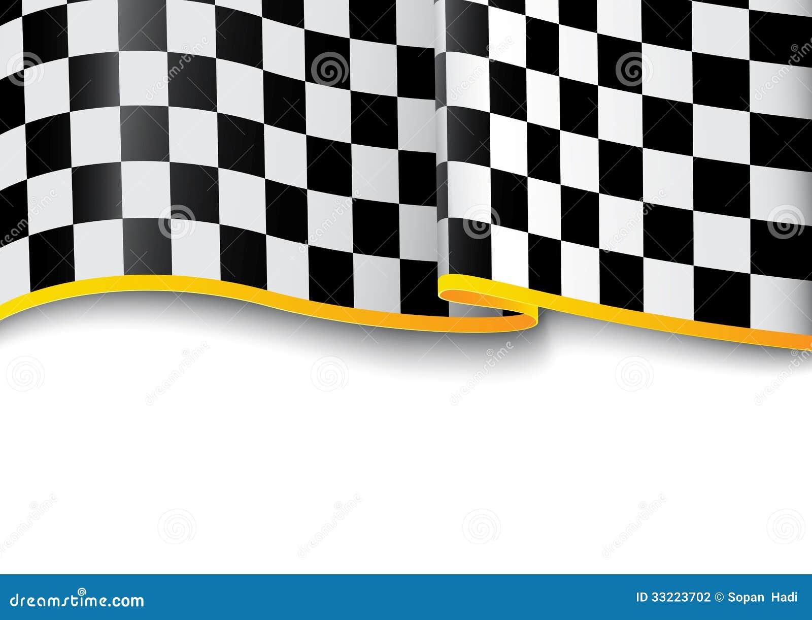 Fond de course noir et blanc carreaux - Carreaux noir et blanc ...