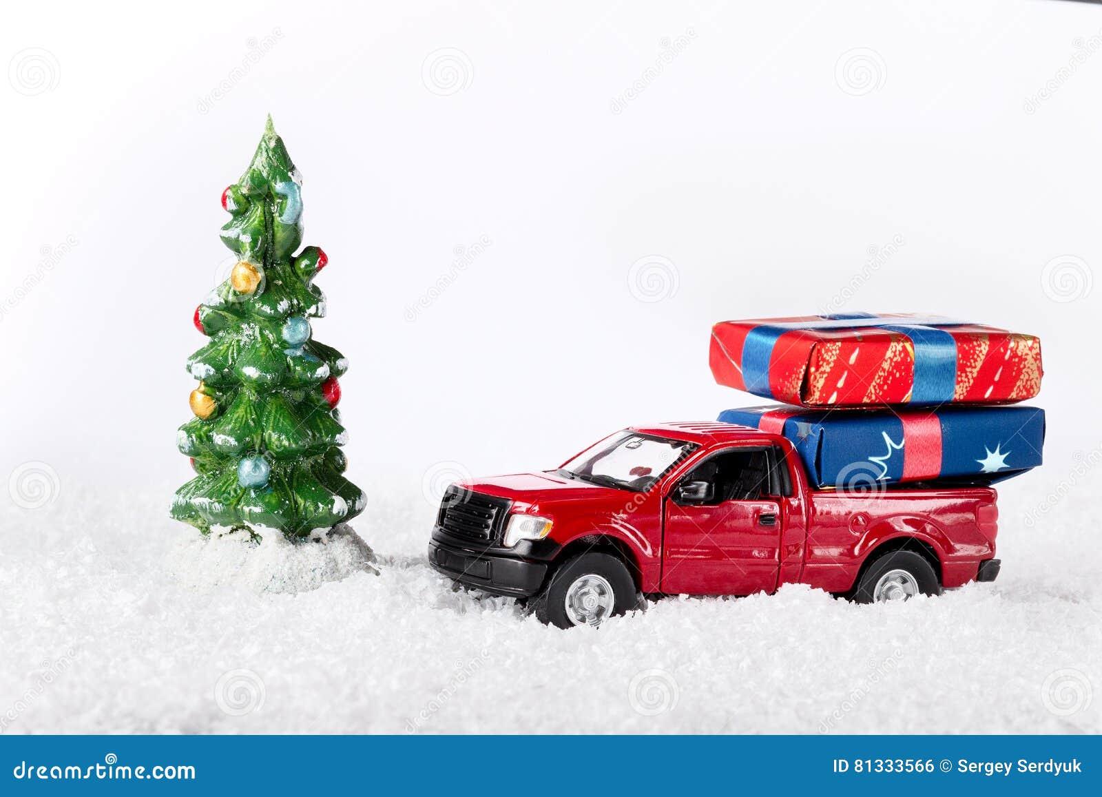 W Fond AnnéeVoiture Ou De Rouge Noël Nouvelle Décoration 7bYvgyf6
