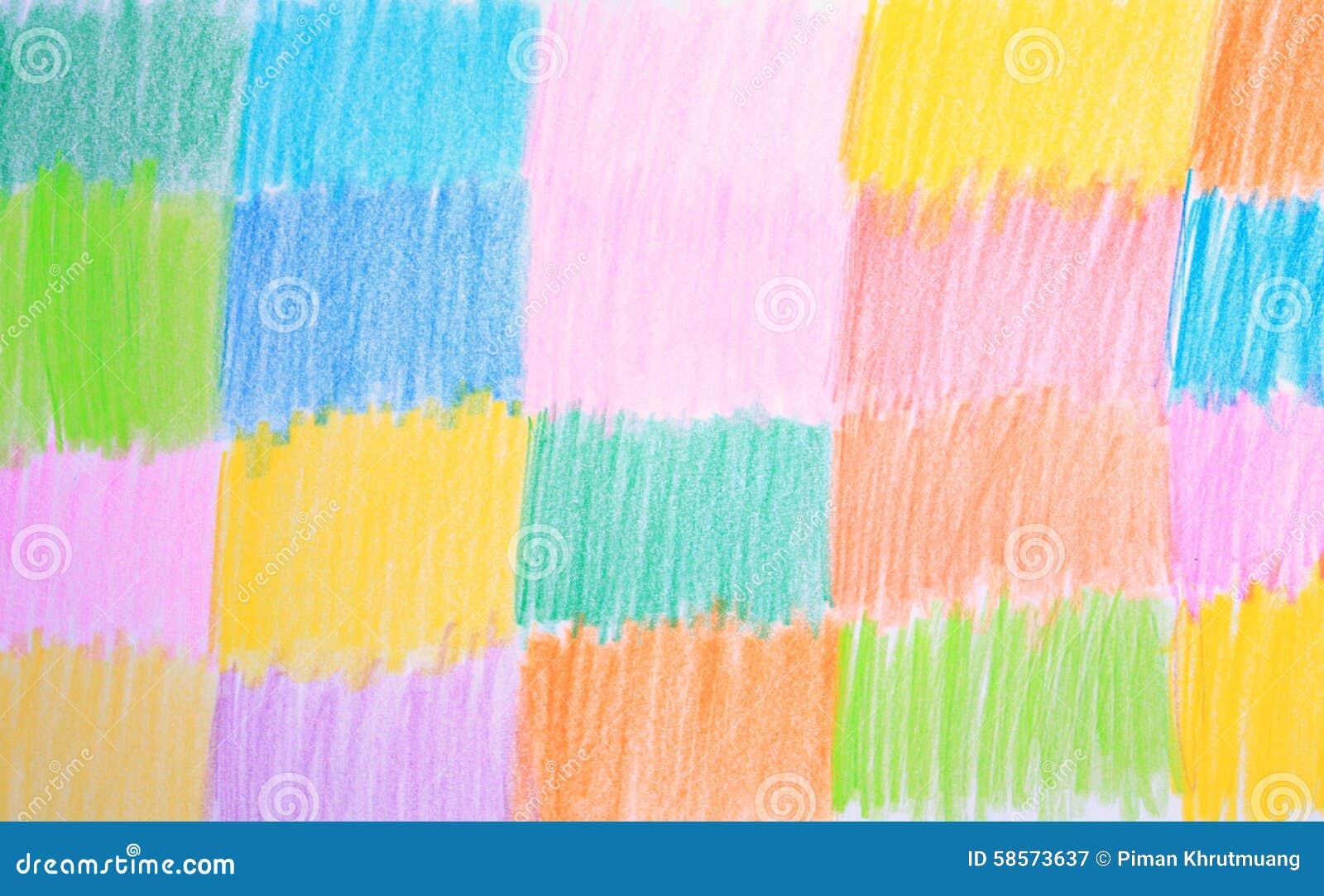 fond de dessin au crayon de couleur image stock image 58573637. Black Bedroom Furniture Sets. Home Design Ideas