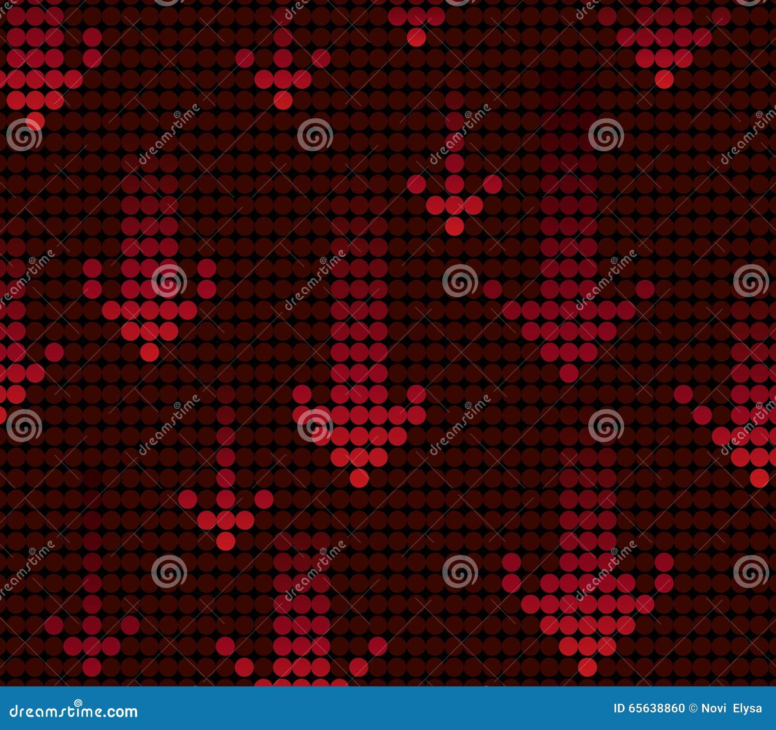 Fond de flèche de lumière rouge