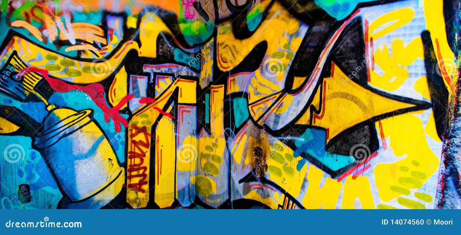 Fond de graffiti