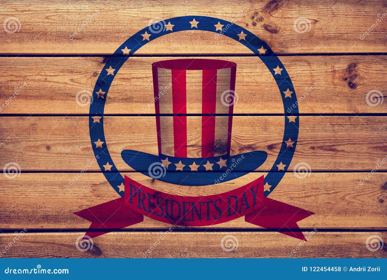 Fond de jour de présidents, Etats-Unis