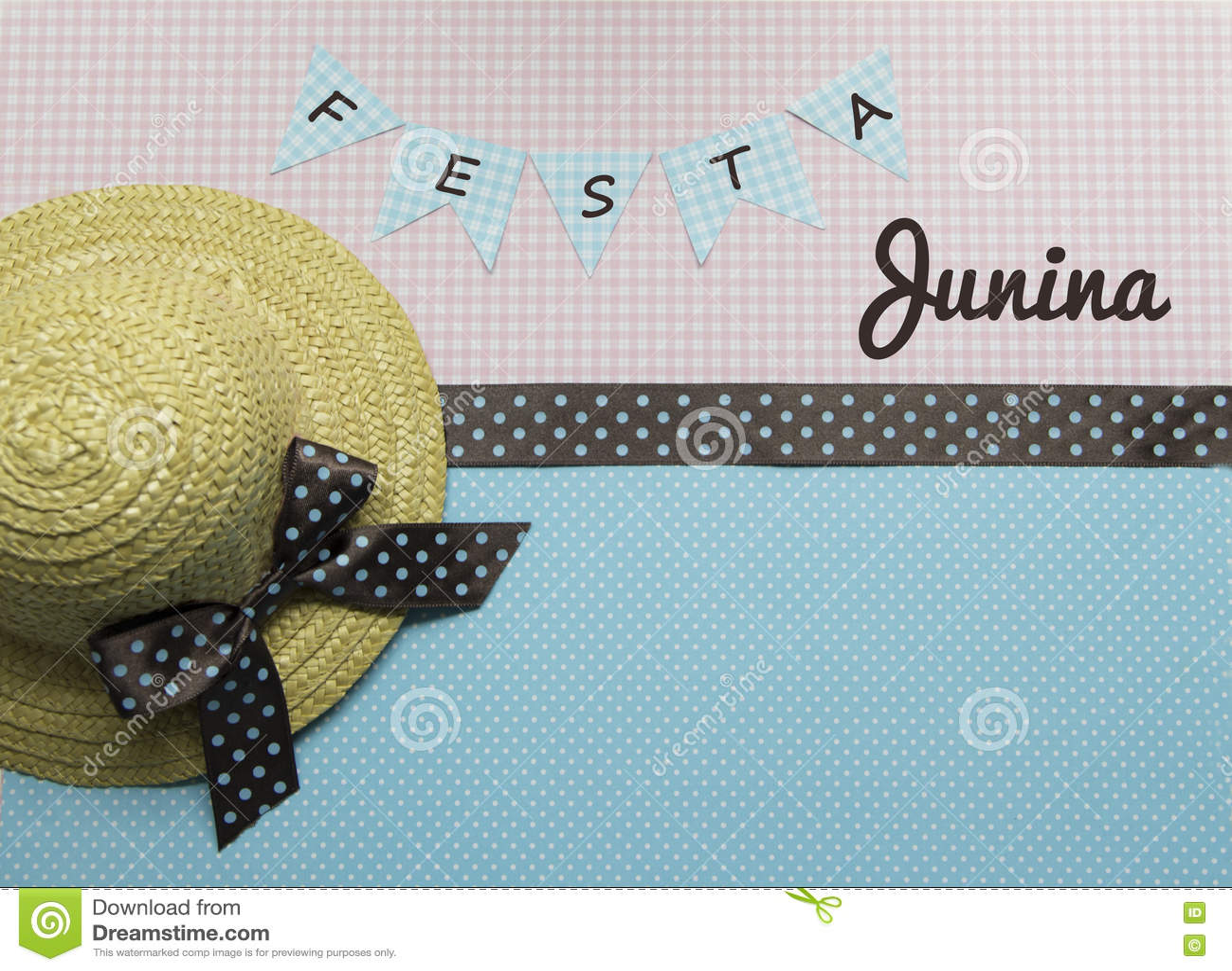 Fond de junina de Festa