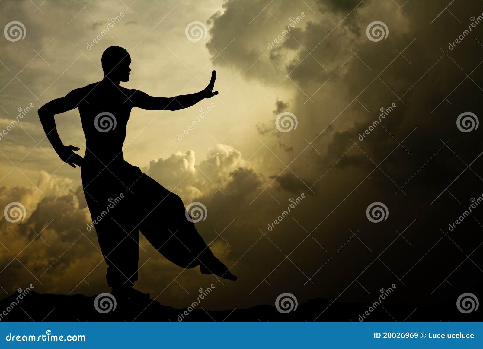 Fond de méditation d arts martiaux