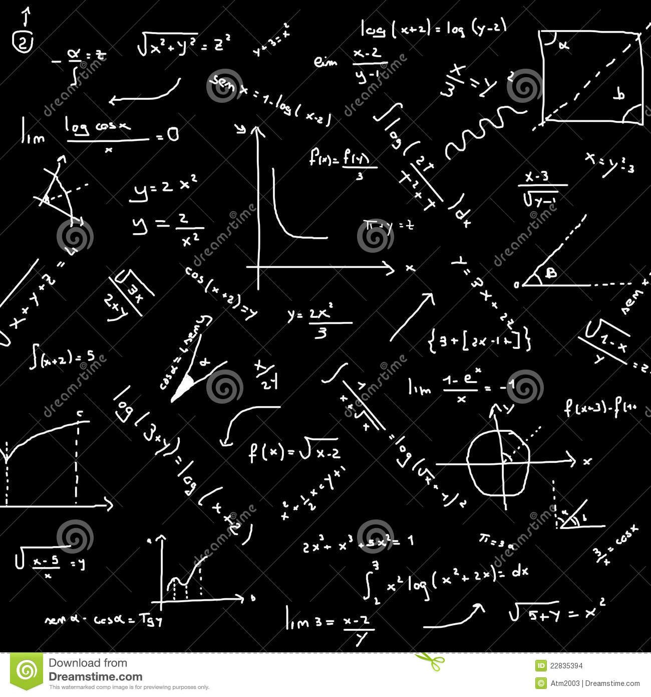 Fond De Maths Images stock - Image: 22835394