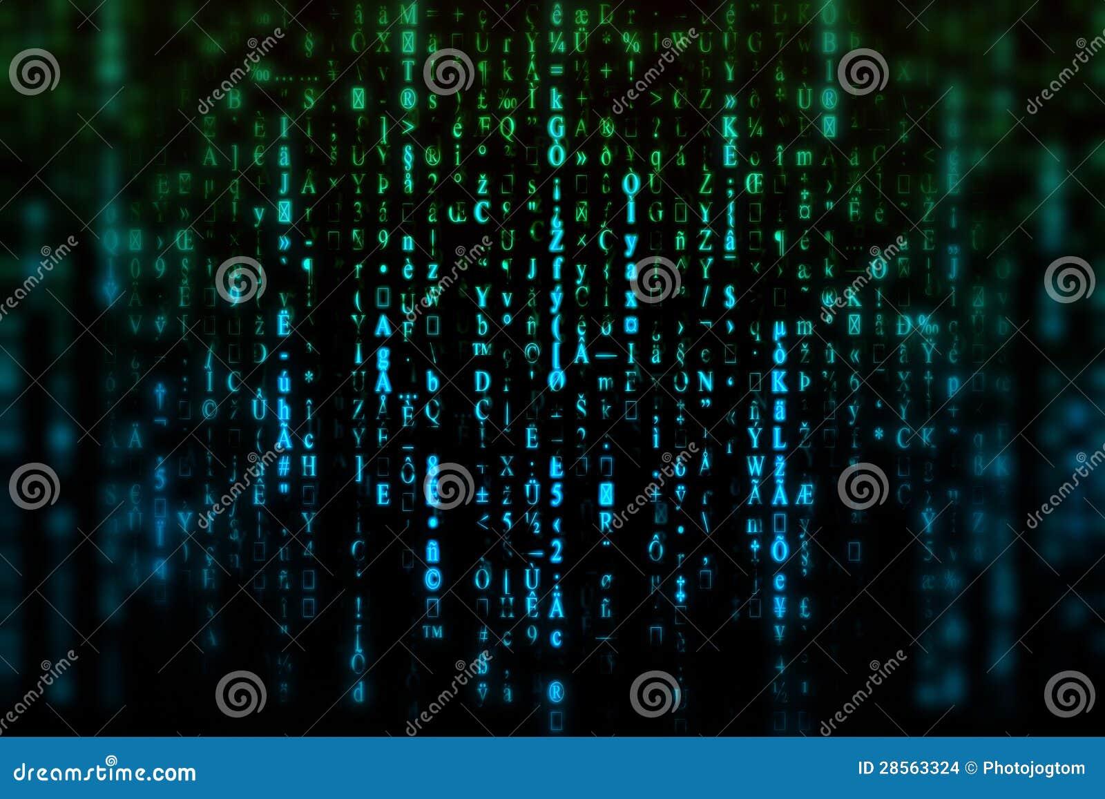 Fond de Matrix