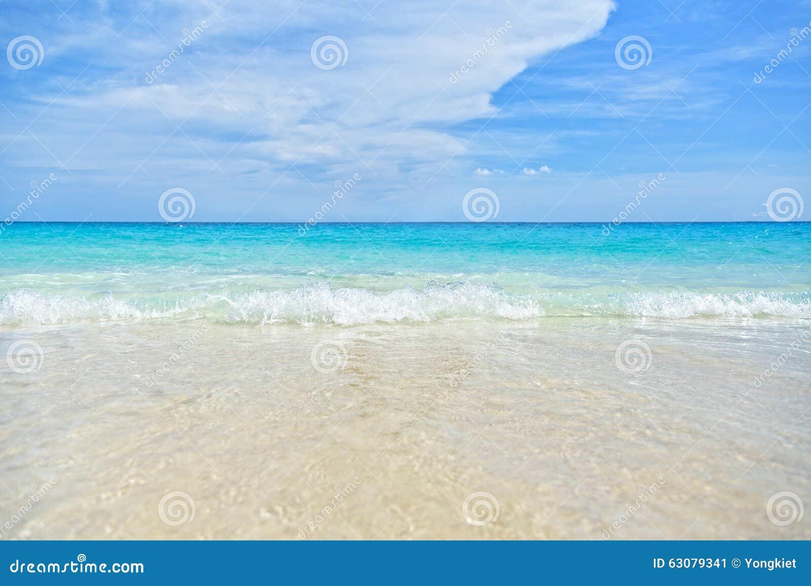 Download Fond de mer et de plage image stock. Image du paysage - 63079341