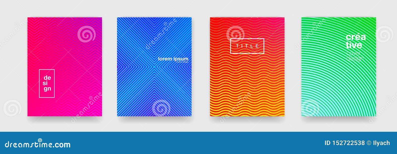 Fond de modèle, texture géométrique abstraite de vague, gradient de couleur Dirigez le modèle géométrique d orange, bleu, rouge e