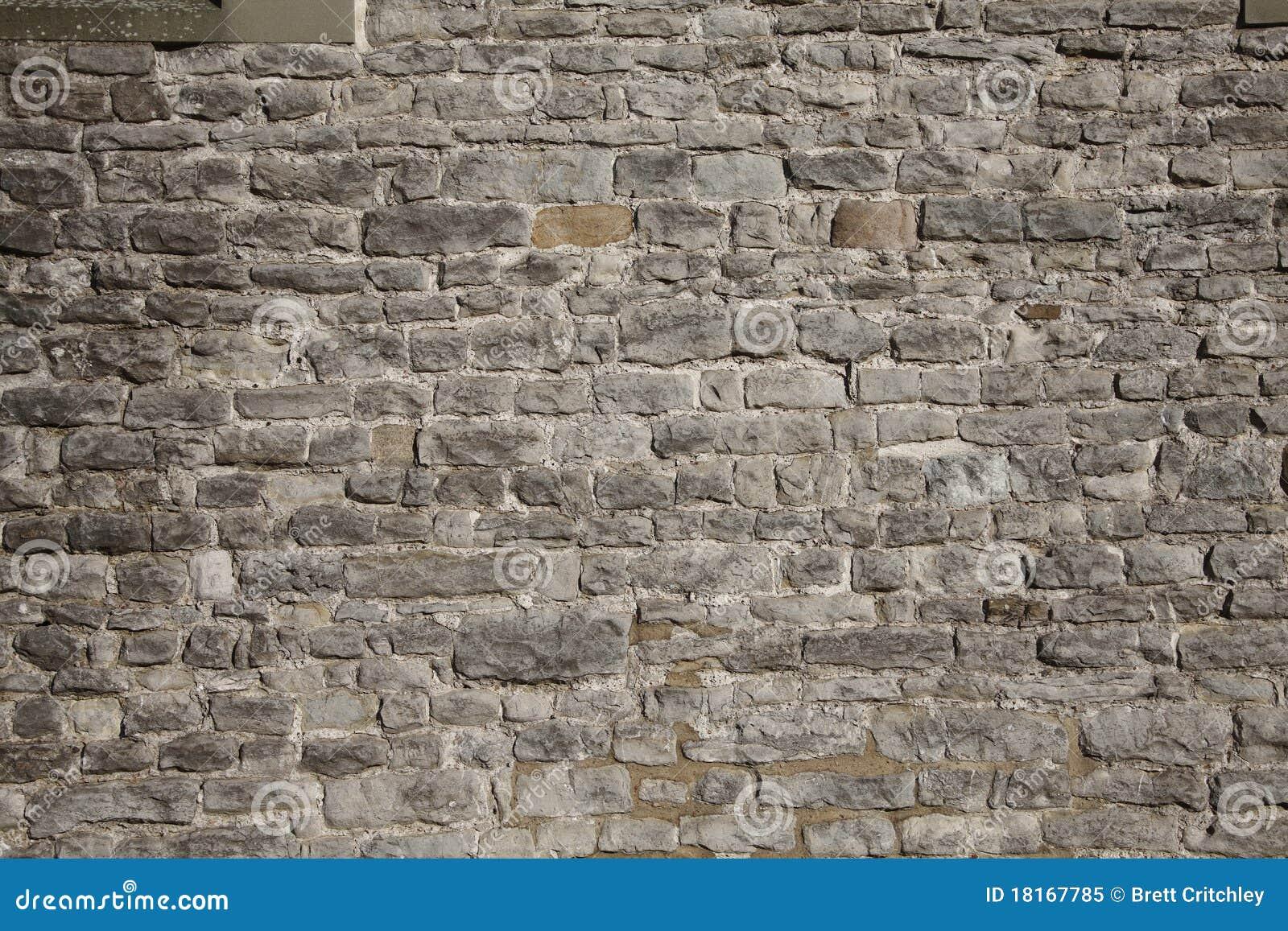 Fond de mur de briques de château