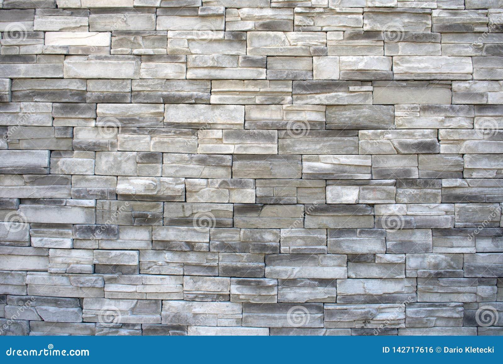 Fond de mur en pierre