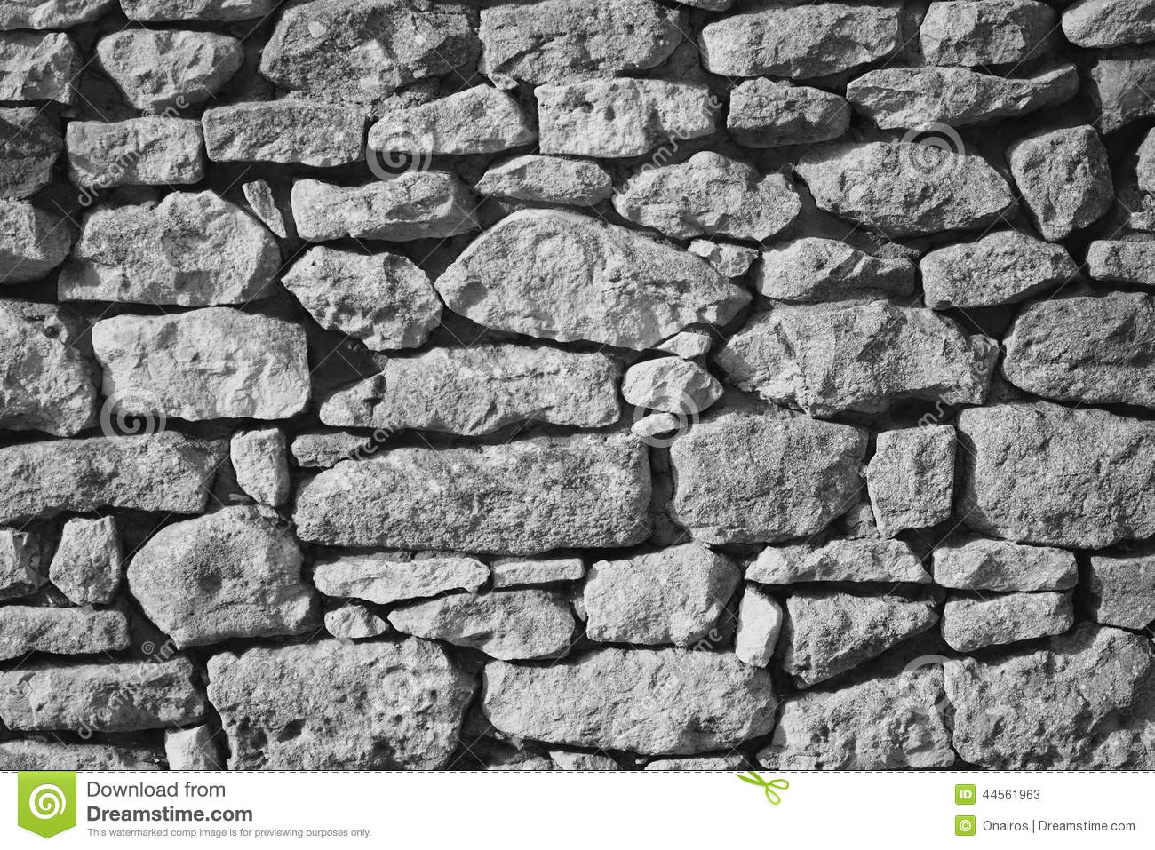 Fond de mur en pierre noir et blanc photo stock image - Mur de photos noir et blanc ...