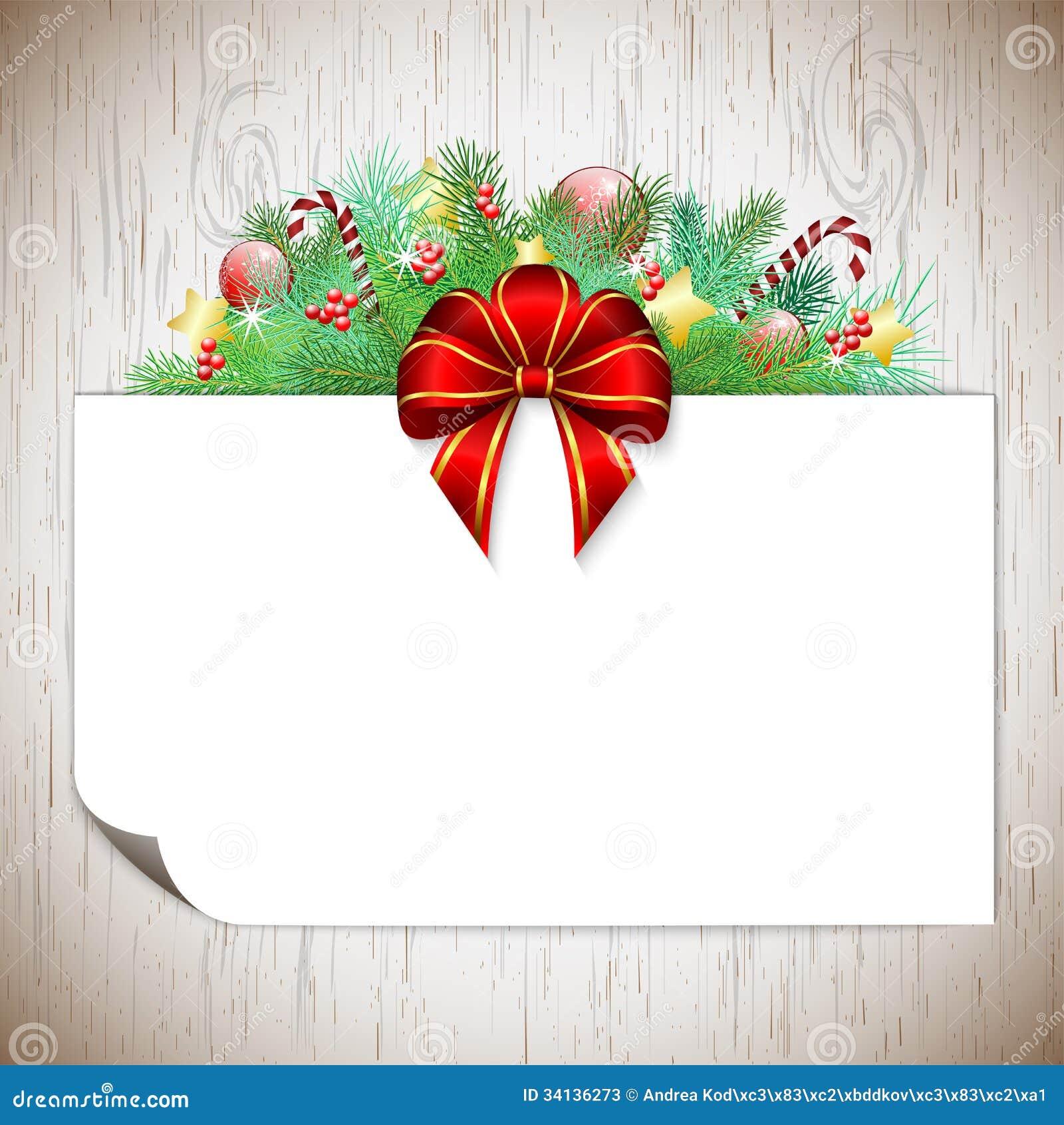 #BD100E Fond De Noël Avec Les Branches Et Le Ruban Photos Stock  5335 décorations de noel avec ruban 1300x1390 px @ aertt.com