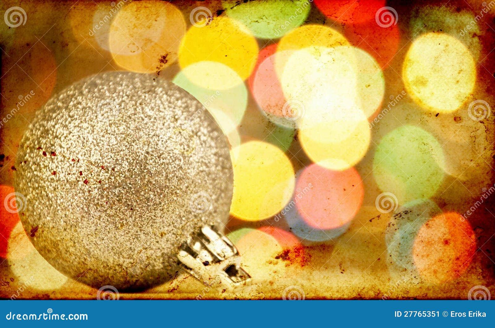 Fond de Noël de cru