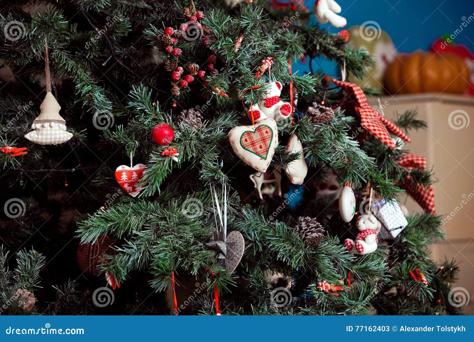 Fond de Noël et de nouvelle année