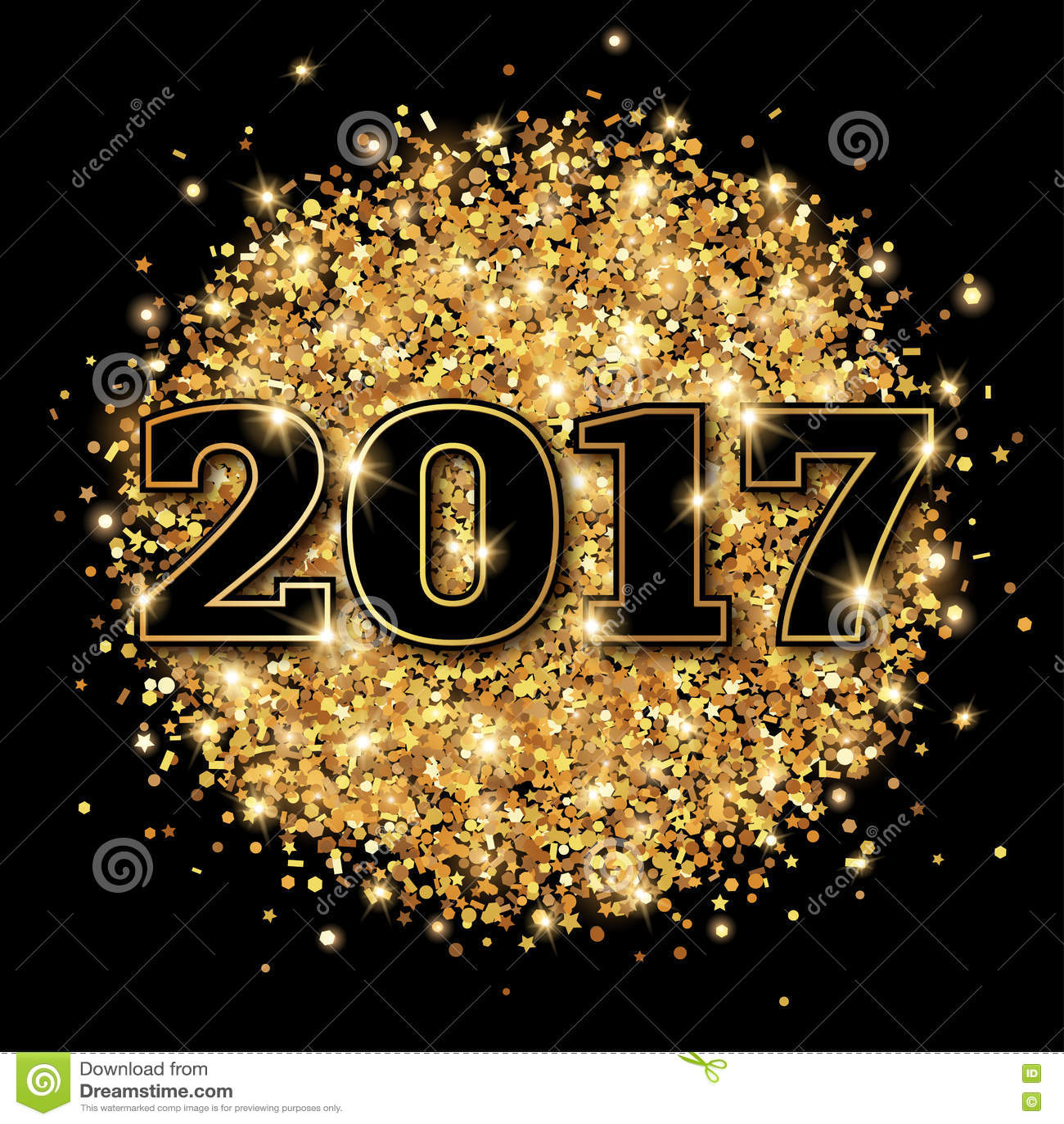 Carte de voeux année 2017