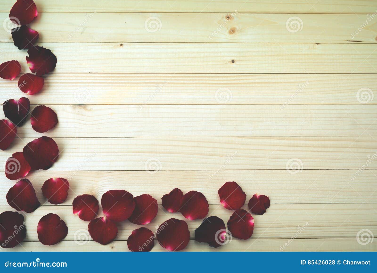 Fond de pétales de Rose