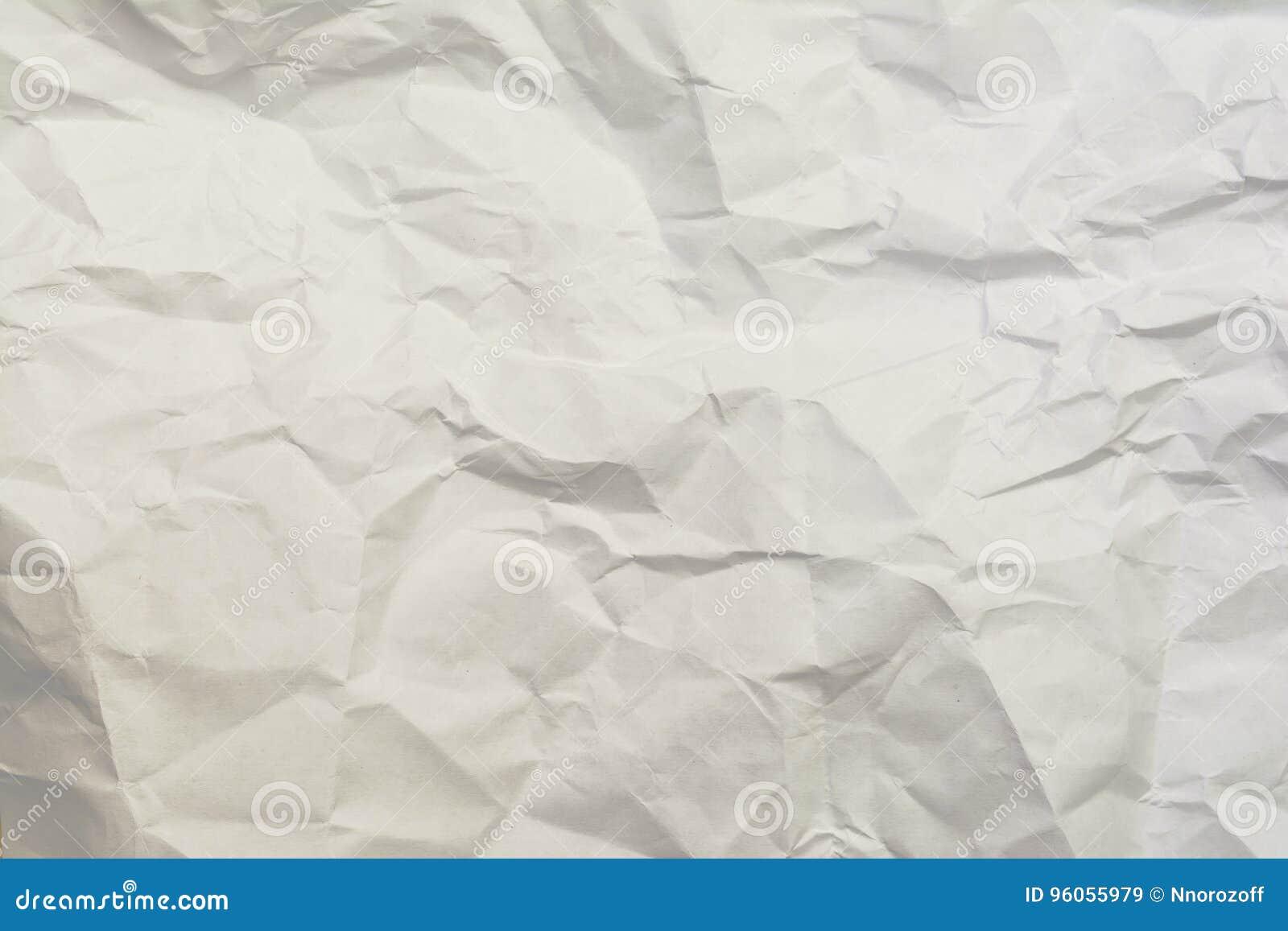 Fond de papier chiffonné de texture,