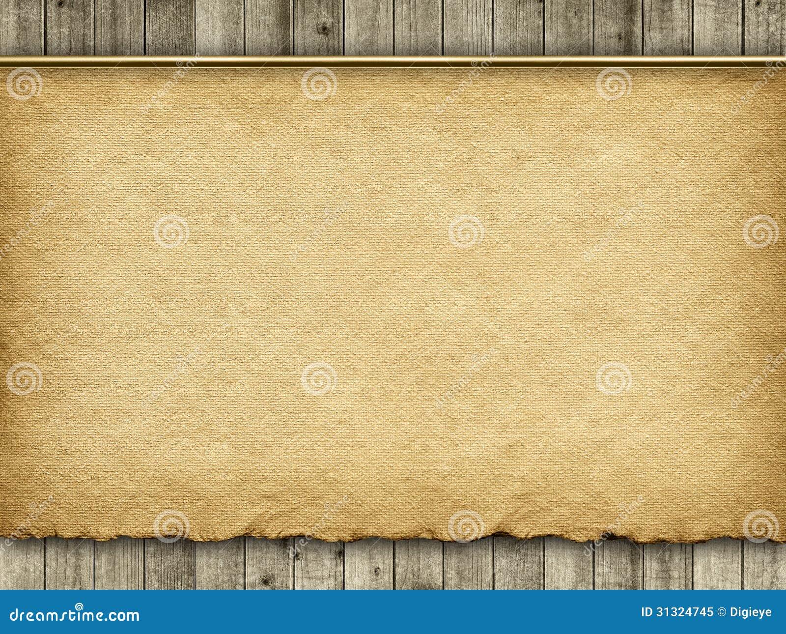 Fond de papier fait main