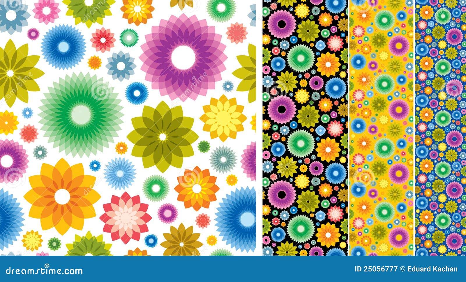 fond de papier peint de fleur photographie stock libre de droits image 25056777. Black Bedroom Furniture Sets. Home Design Ideas