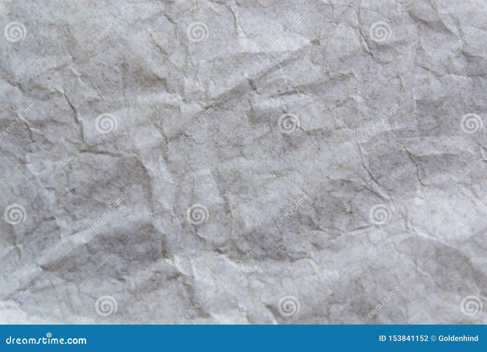 Fond de papier de texture chiffonn? par blanc
