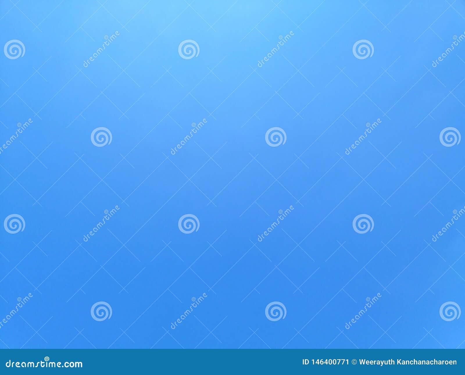 Fond de paysage de ciel bleu