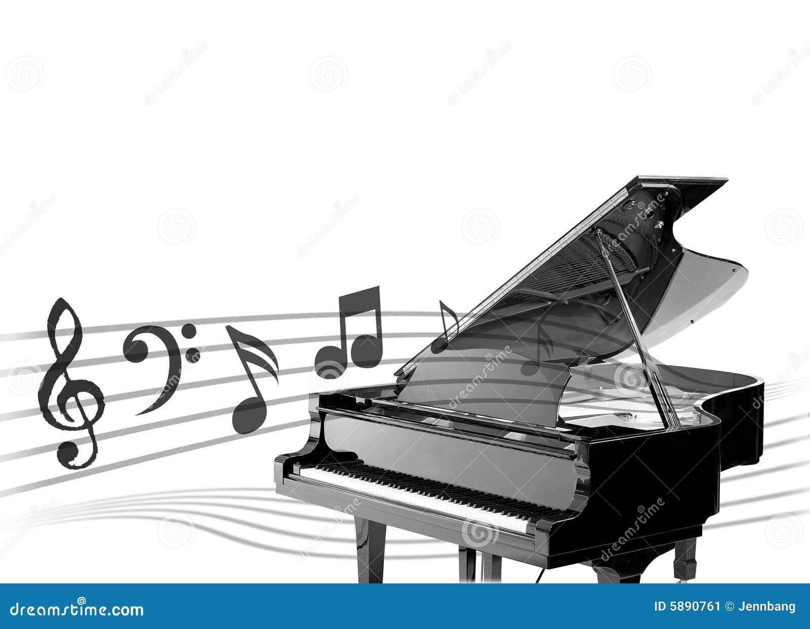 Fond de piano