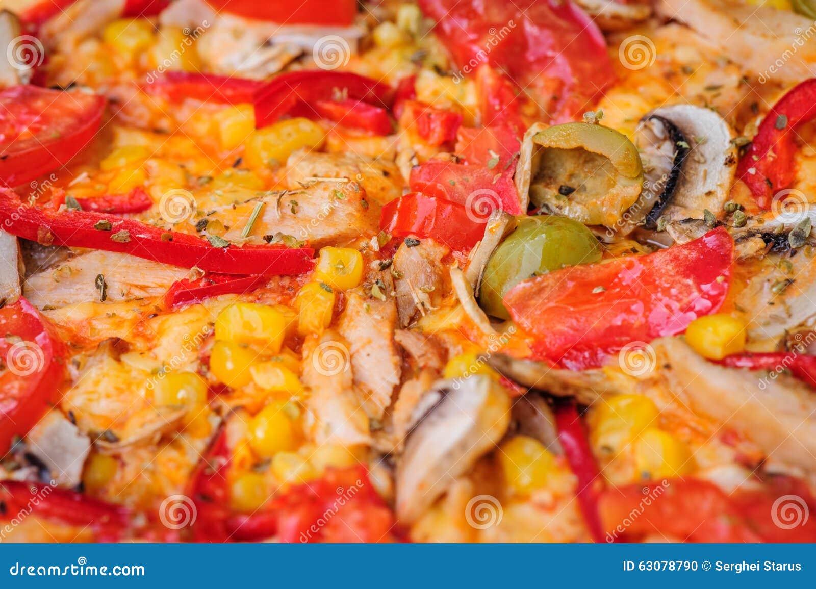 Download Fond De Plan Rapproché De Pizza Photo stock - Image du chaud, tomate: 63078790