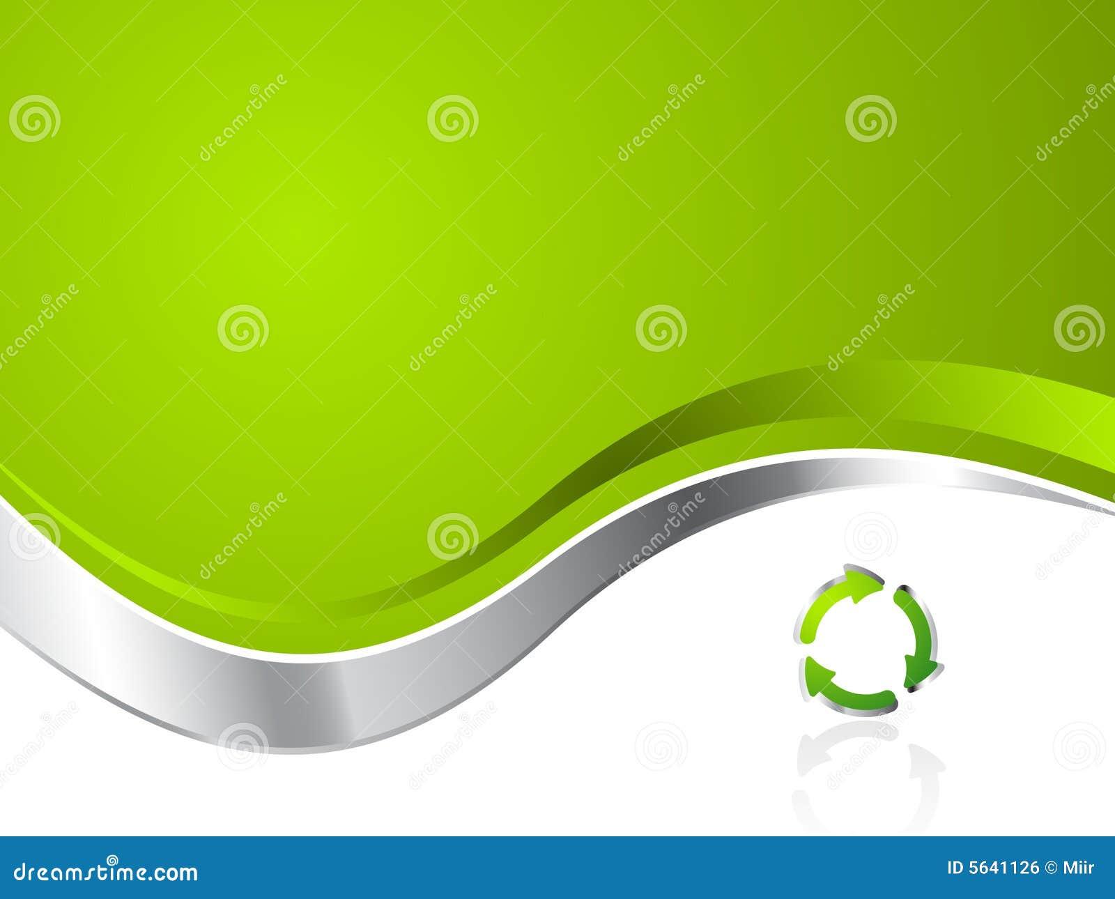 Fond de réutilisation environnemental vert d affaires