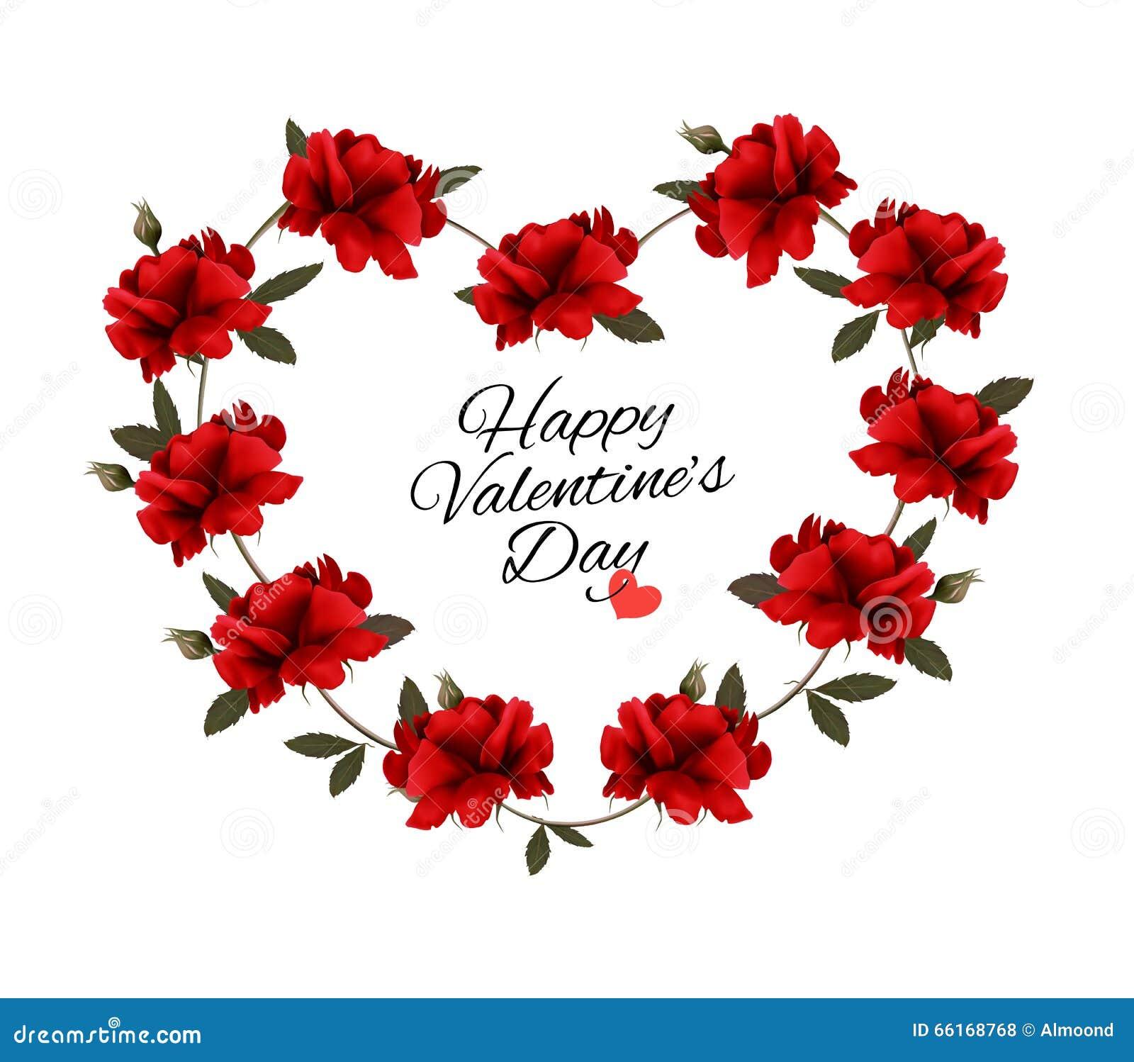 Fond de saint valentin avec un bouquet des roses rouges for Bouquet saint valentin