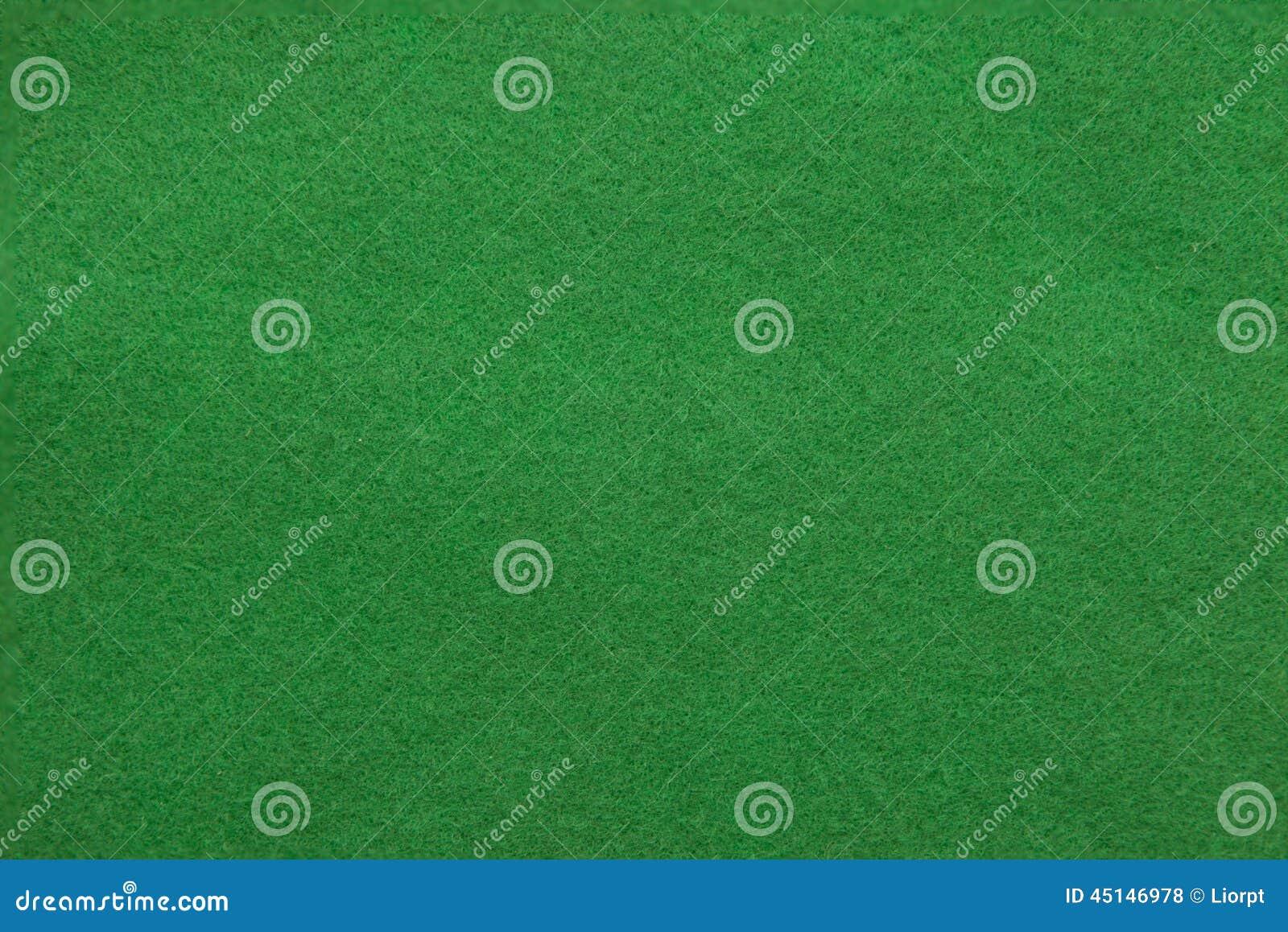 Fond de table verte de casino