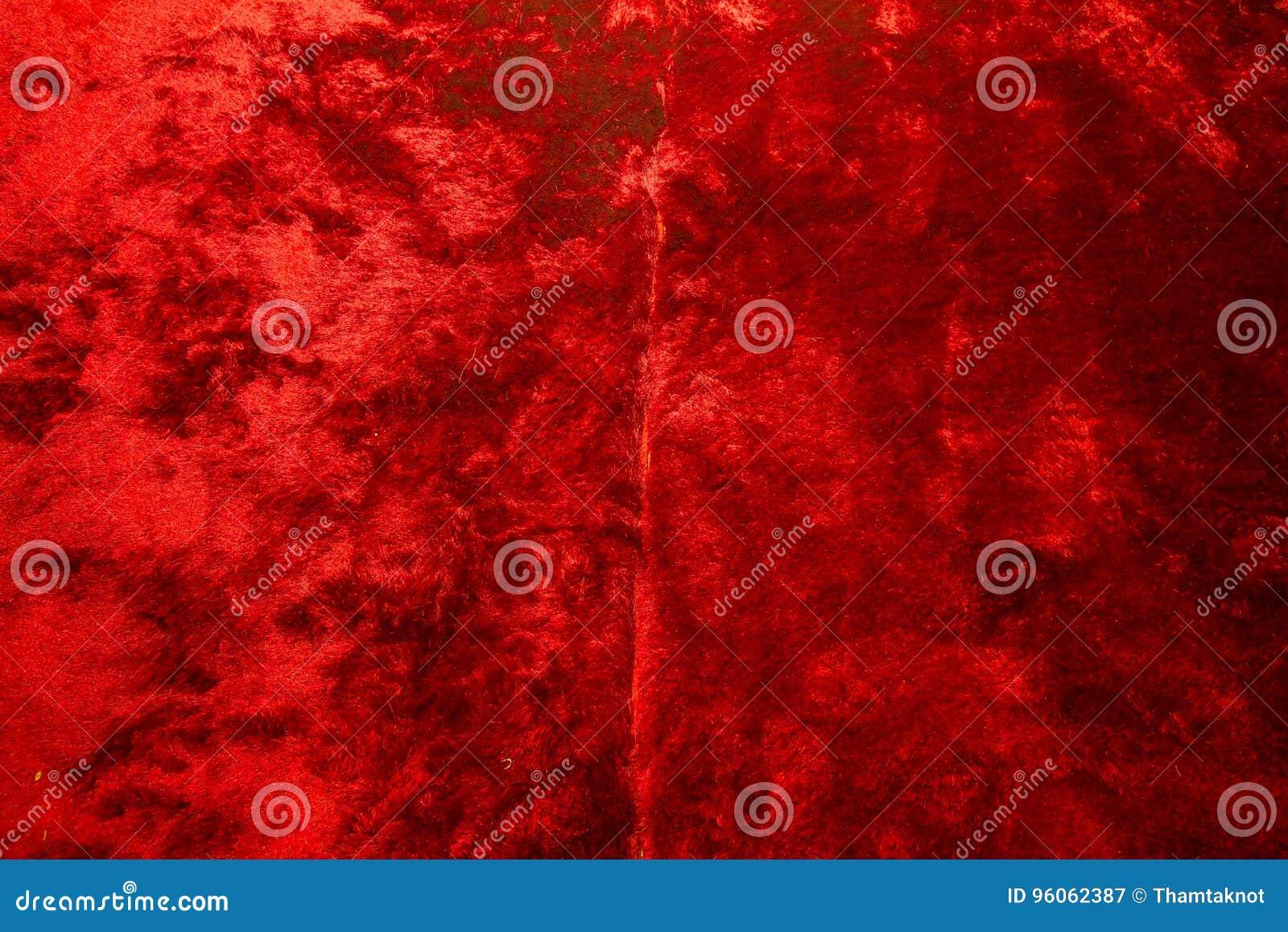 Fond de tapis rouge de vue supérieure