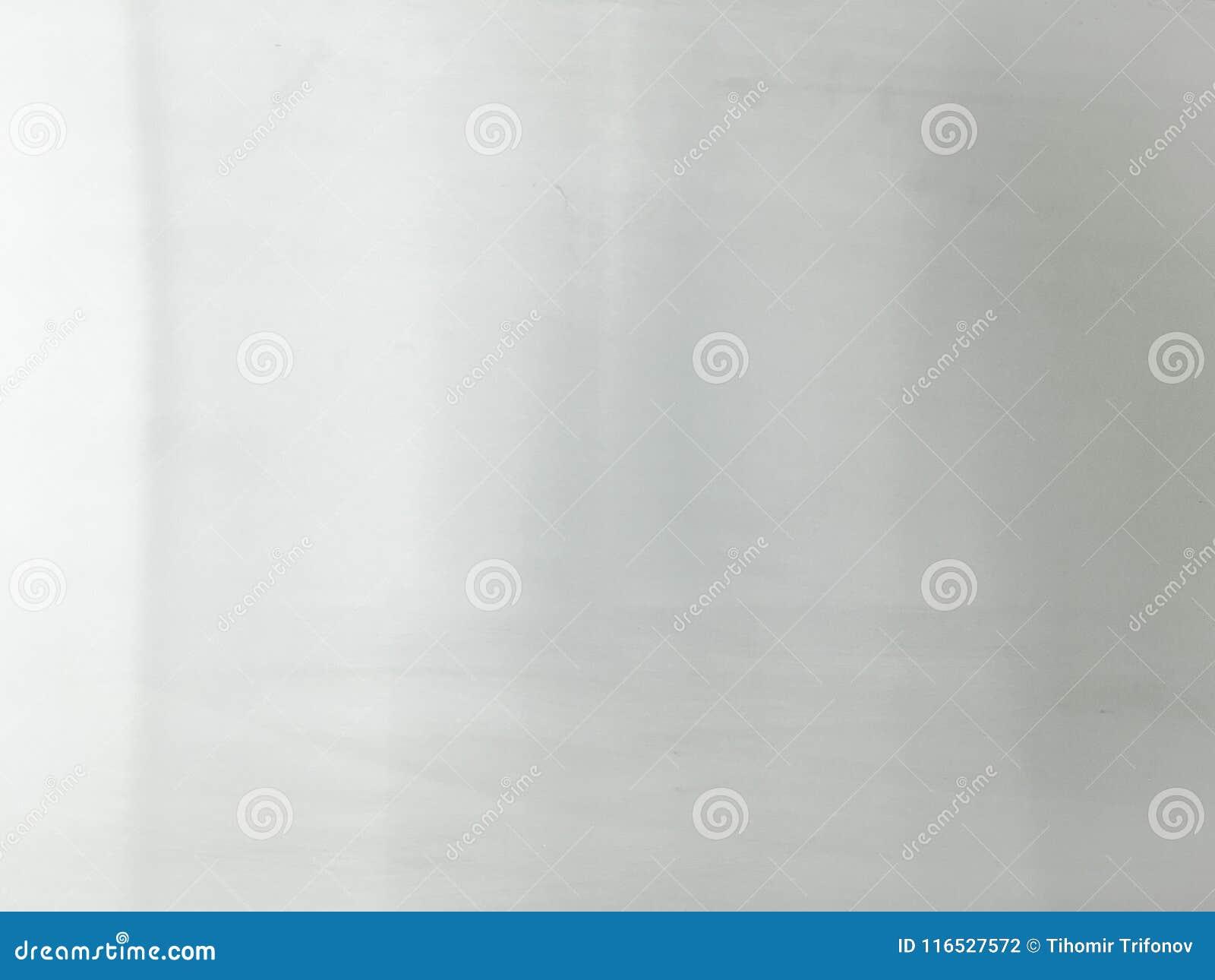 Fond de texture d aluminium argenté Blanc et scintillement d argent, fond d étincelle Emballage brillant de fond de texture en mé