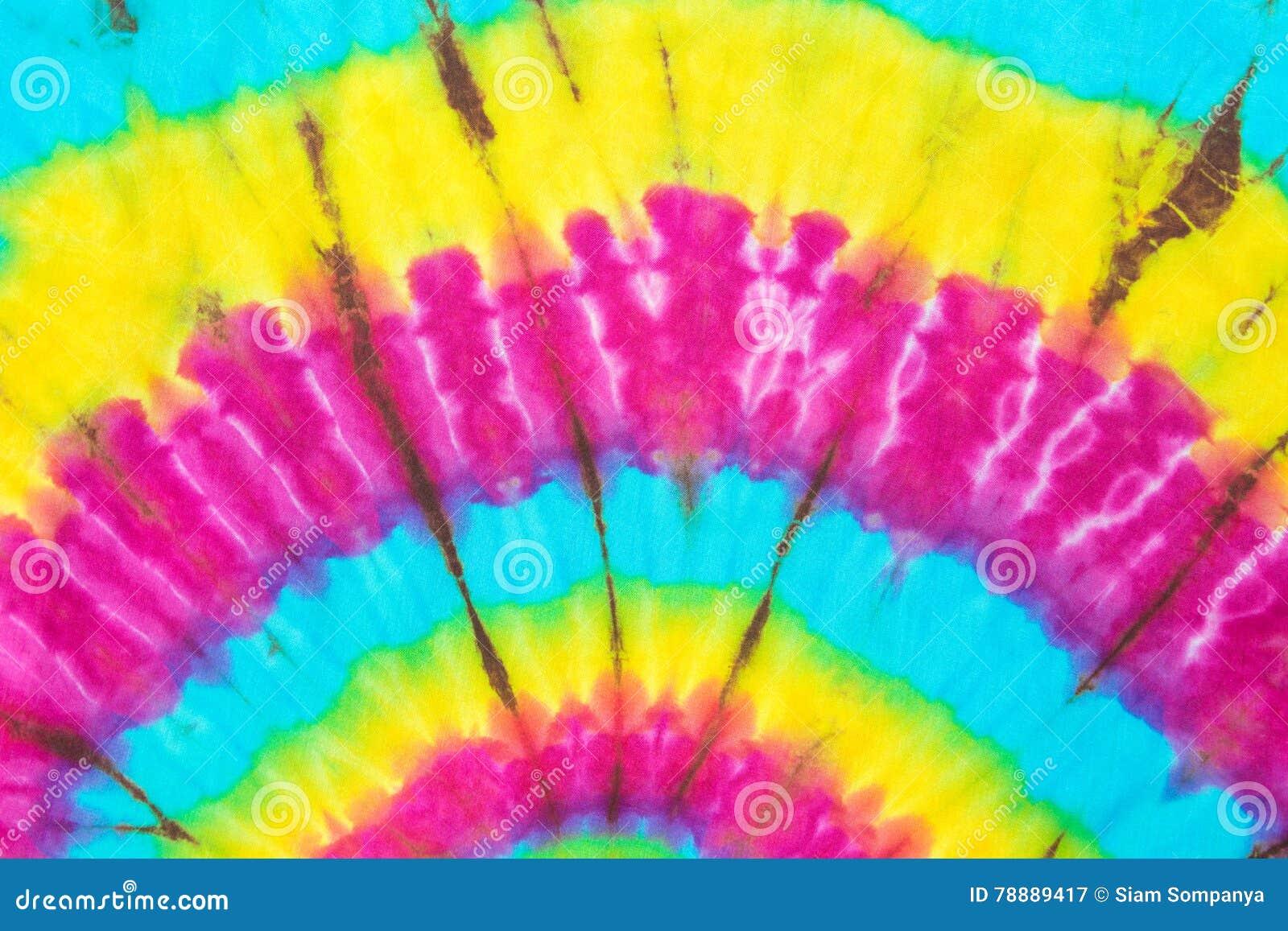 Fond de texture de couleur de colorant de lien de tissu