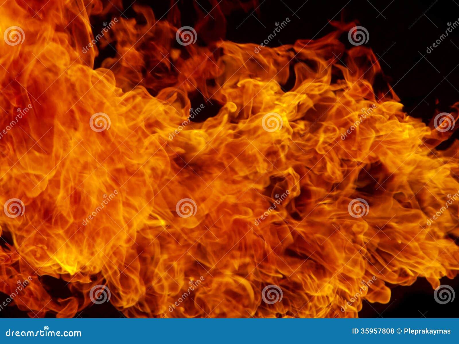 Fond De Texture De Flamme Du Feu De Flamme Photos libres de droits - Image: 35957808