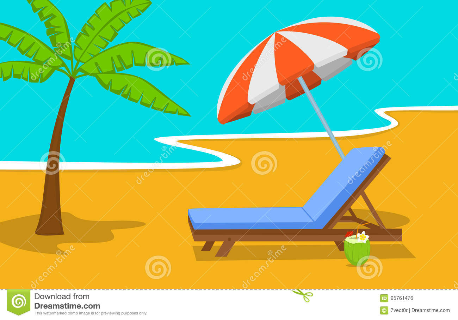 Fond Avec Temps ParapluieLa De Le Vacances Plage D'été 34AR5jLq