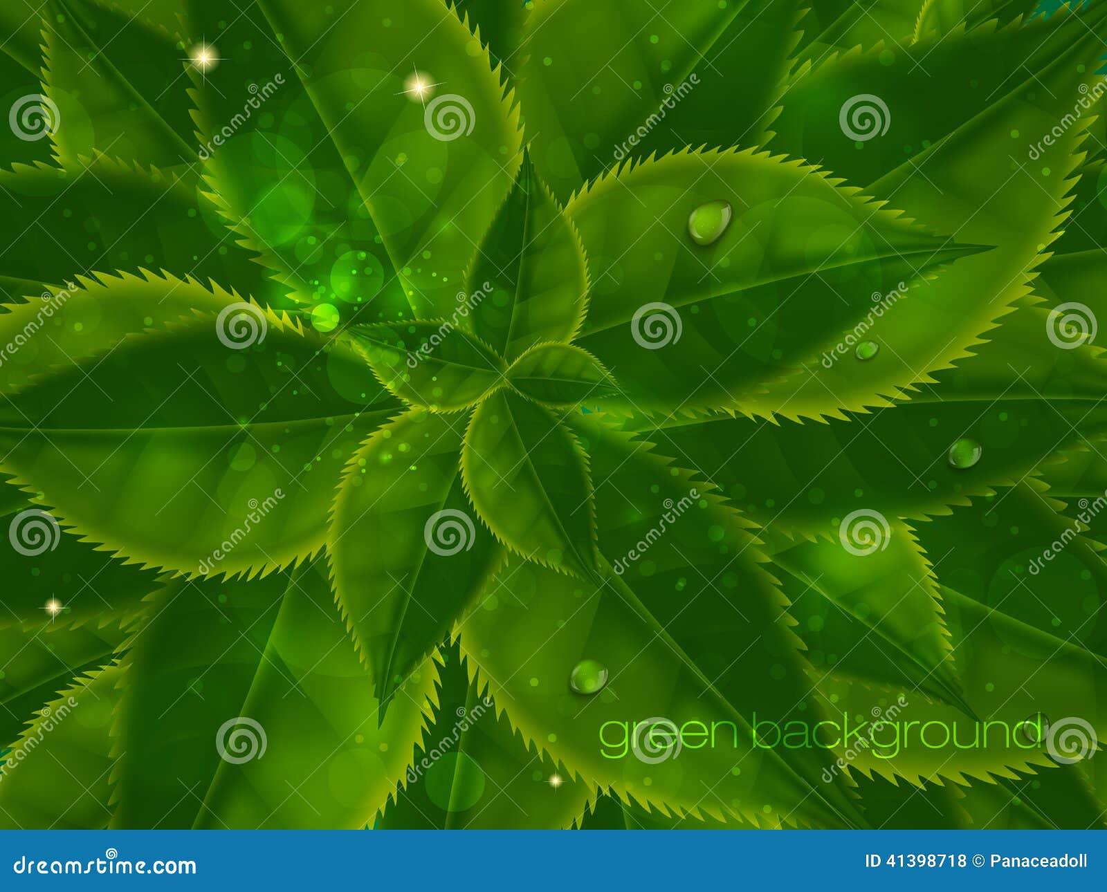 Fond de vecteur dans des couleurs en pastel avec le vert illustration de vect - Couleur avec le vert ...