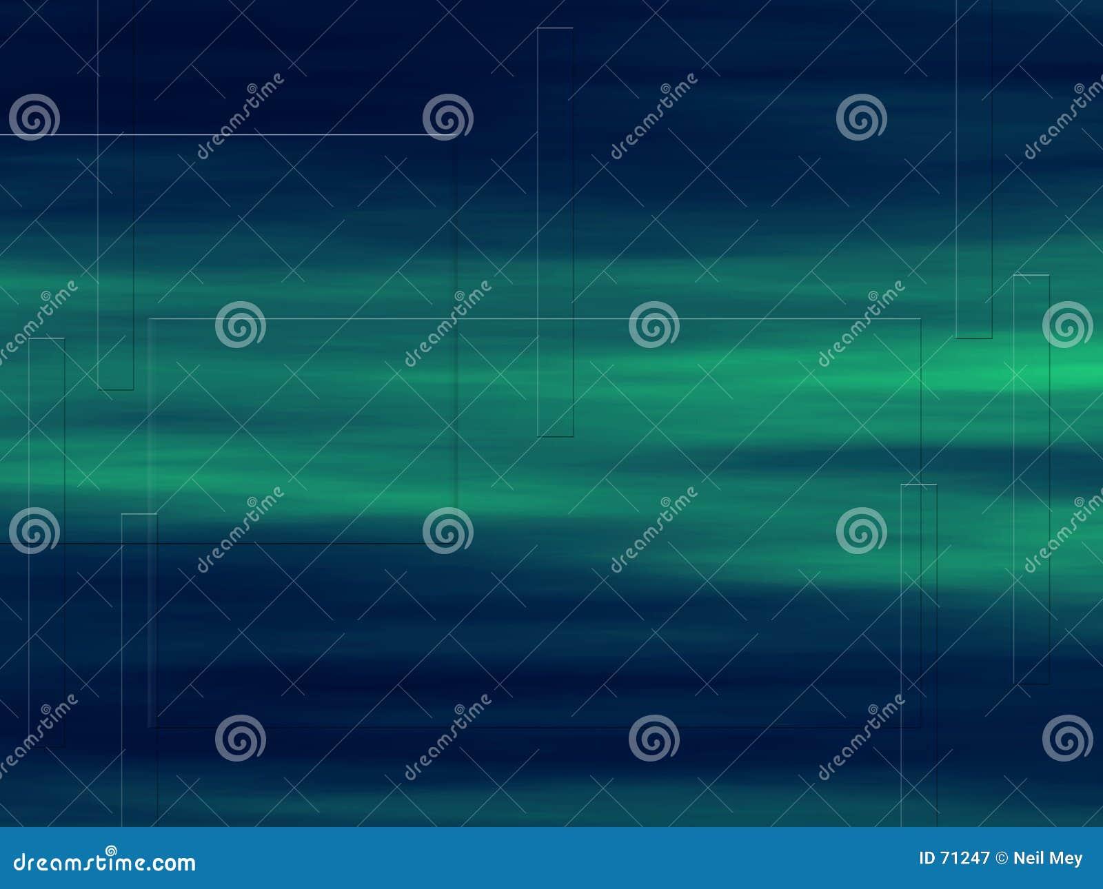 Fond de vert bleu