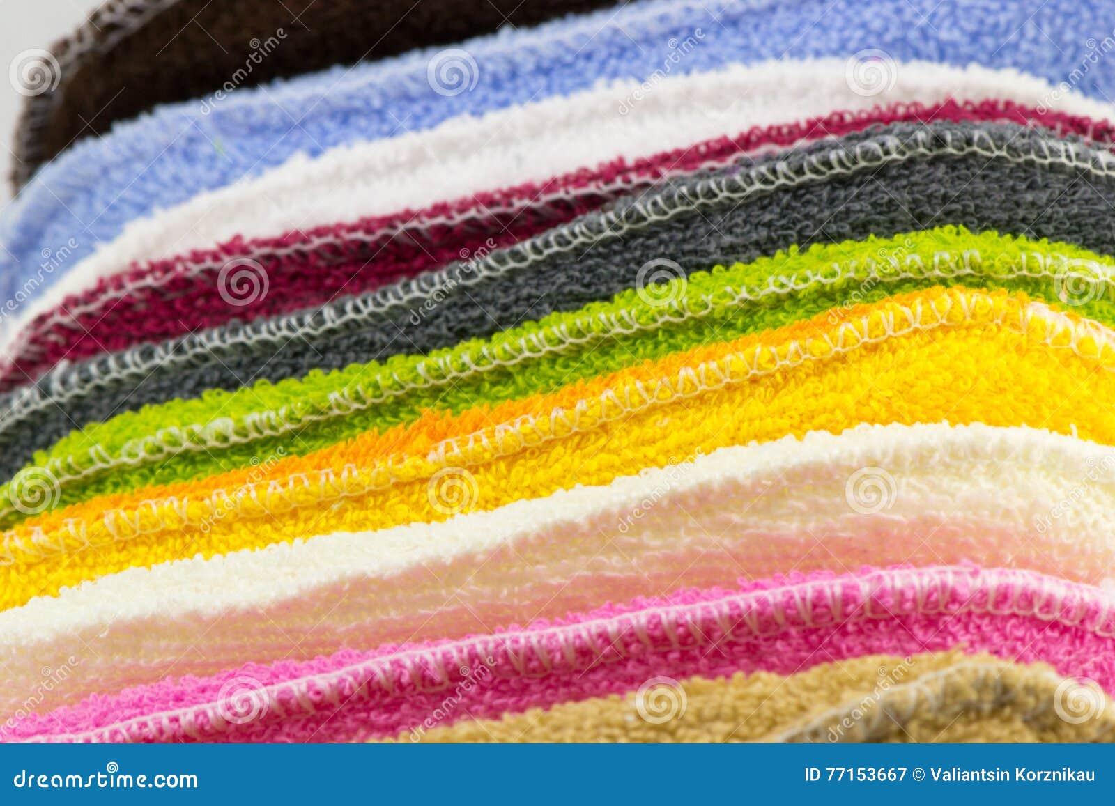 Fond des éponges colorées