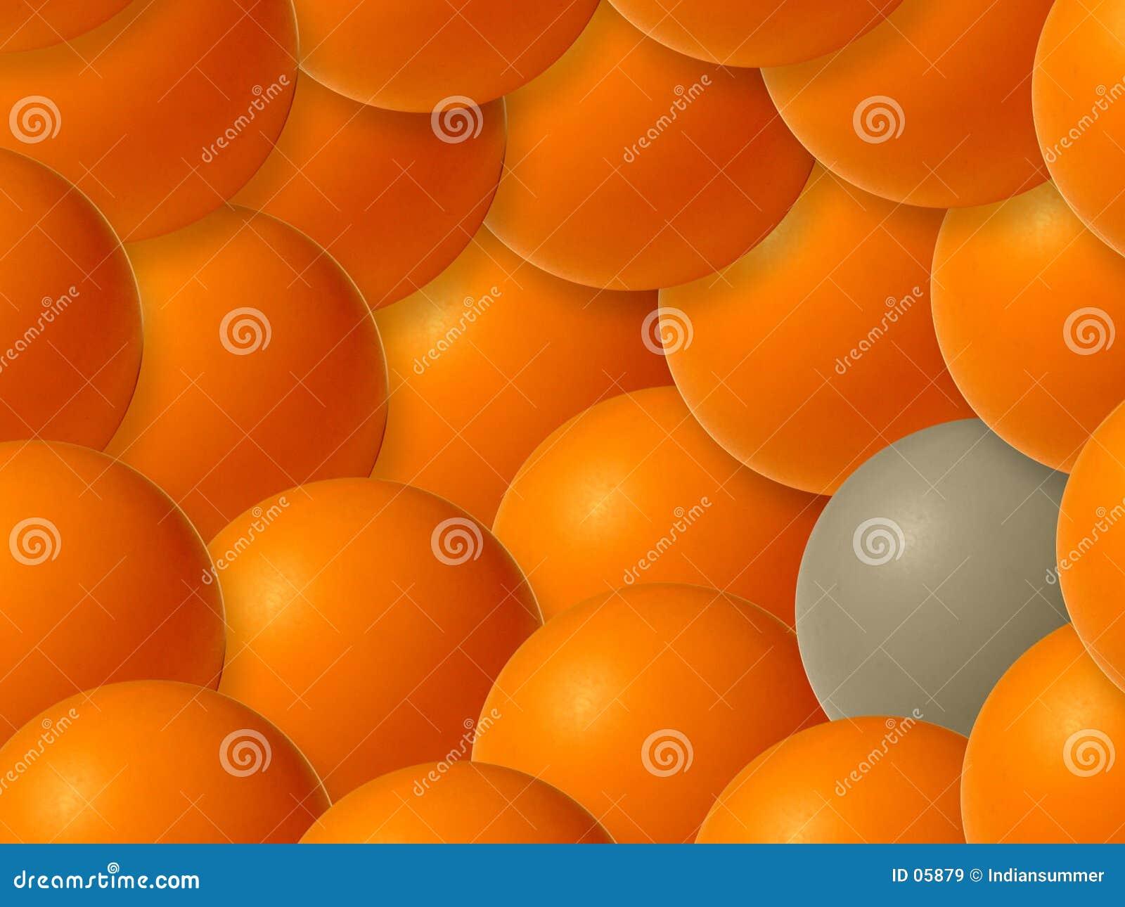 Fond des bulles colorées, II