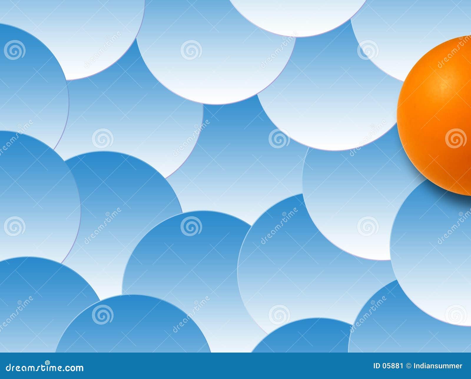 Fond des bulles colorées, III