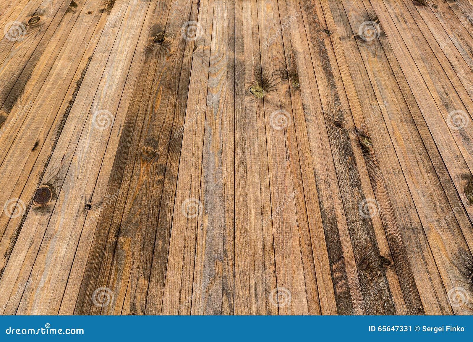 Fond des planches en bois