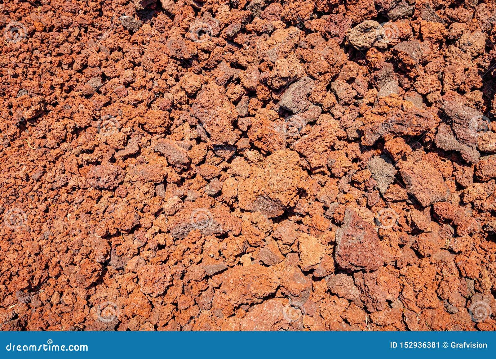 Fond des scories poreuses volcaniques
