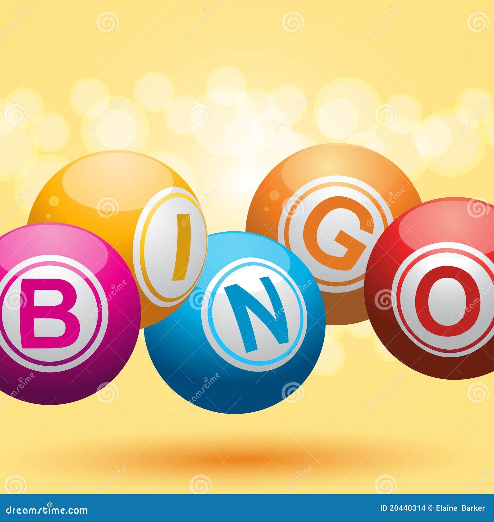 fond du bingo-test 3d illustration de vecteur. illustration du