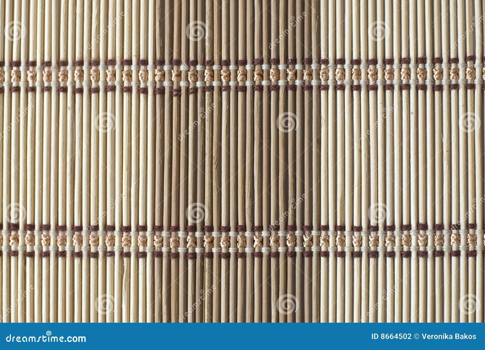 Fond en bambou de couvre-tapis