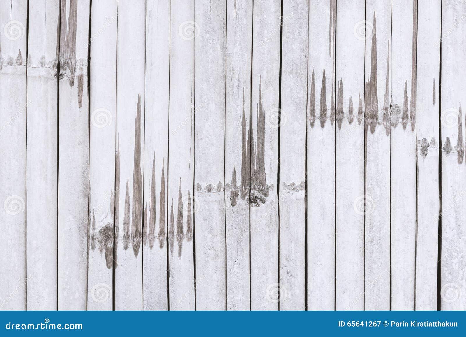 Fond en bambou de texture de mur