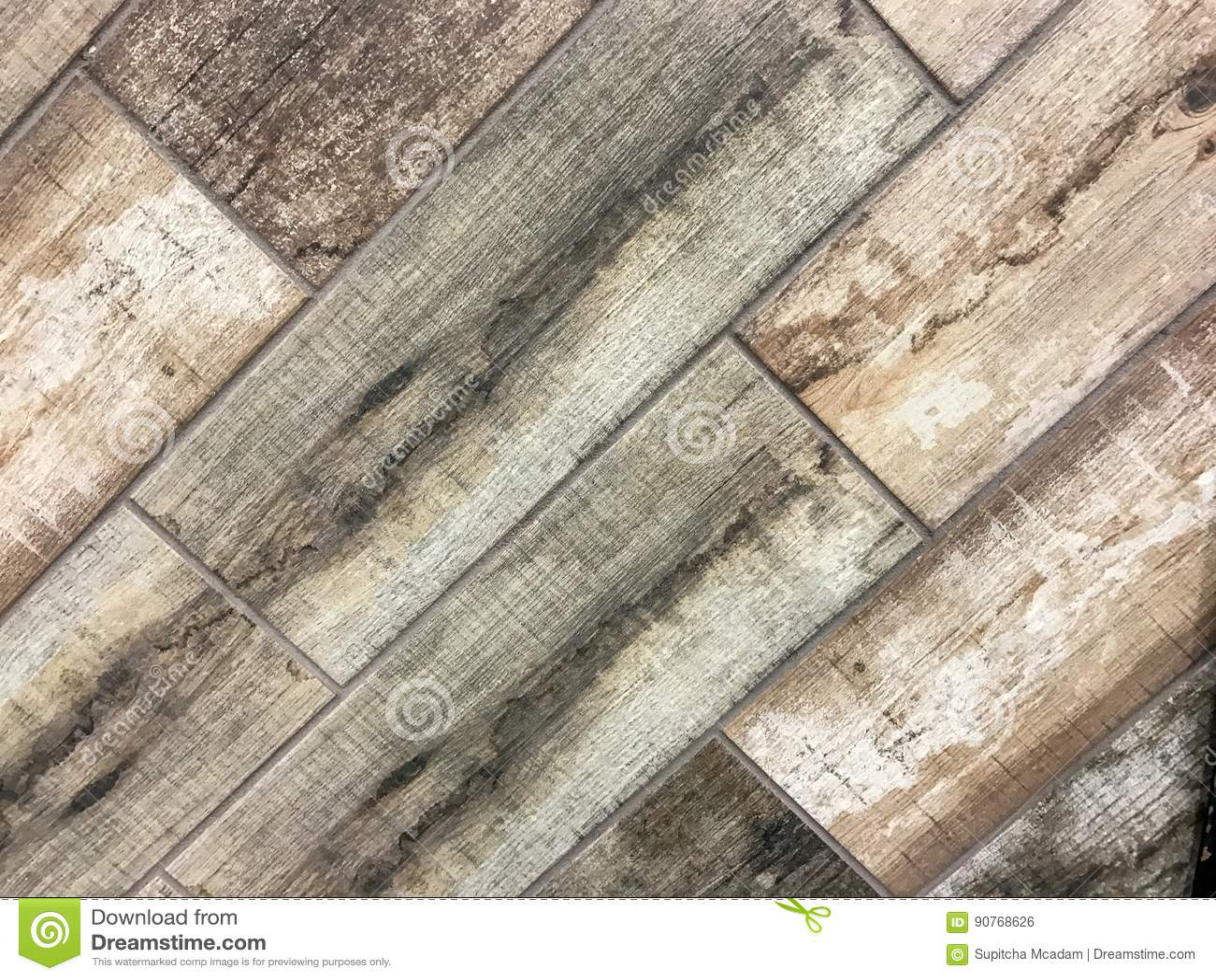 Fond en bois carrelé de texture de plancher