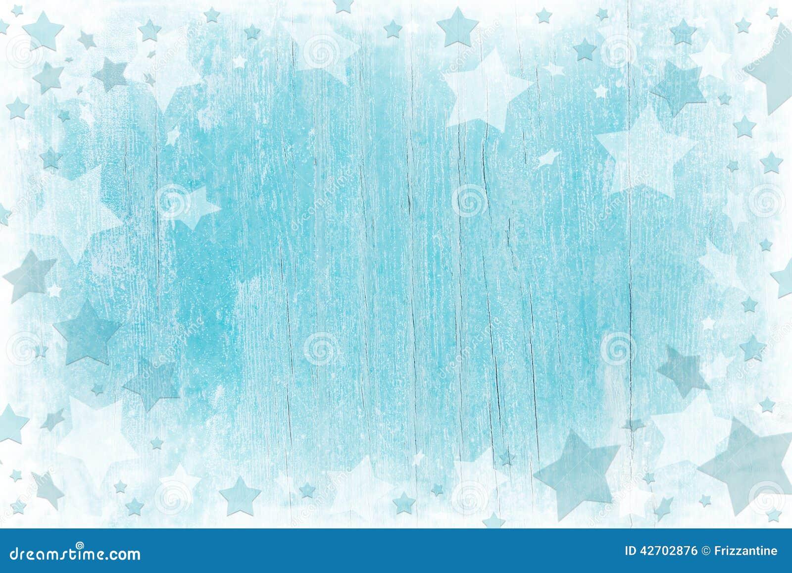 Fond en bois de Noël de bleu ou de turquoise avec la texture